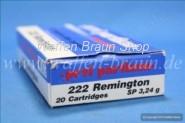prvi partizan .222 Remington SP 50 grain 20 Stk.