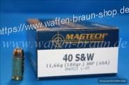 Magtech 40S&W JHP 180GRS A50   #40A