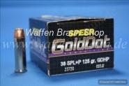 Speer .38 Special +P GDHP 125grain 20 STK #23720