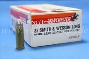 Winchester .32 S&W long LRN 98 grain 50 STK #X32SWLP