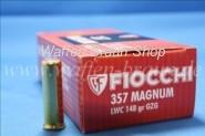 FIOCCHI - Revolverpatronen .357 MAGNUM LWC / 9,59 G / 148 GRS