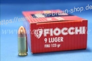 FIOCCHI - Pistolenpatronen 9 MM LUGER VM / 7,97 G / 123 GRS