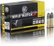 RWS .22 l.r. RIFLE MATCH S* 50 Stück