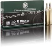RWS .30 R BLASER EVO 11,9G 184GR 20ER