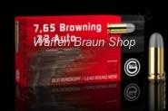 GECO PATR 7,65 Browning  Blei-Rundkopr 4,6g 50 STK