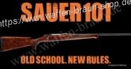 Sauer 101 Repetierbüchse Kal. 30-06 Holzschaft mit offener Visierung