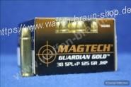 Magtech .38 Special +P JHP 125 grain Guardian Gold #GG38A 20 Stück