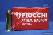 FIOCCHI - Revolverpatronen .44 MAGNUM TM SJSP / 15,55 G / 240 GRS