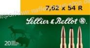 S+B 7,62x54R SP 180grs. 20St  #2940