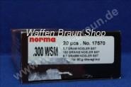 NORMA .300 WSM NOSLER BST 9,7G 150GR 20 Stück