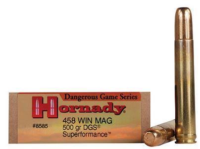 HORNADY AMMO  458 WIN MAG VM 500gr #8585